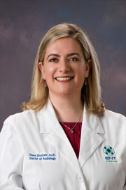 Dana Grattan, AuD, audiologist at ENT Carolina in Gastonia, Belmont and Shelby